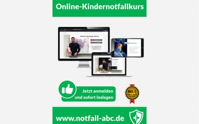 Online Kindernotfallkurse